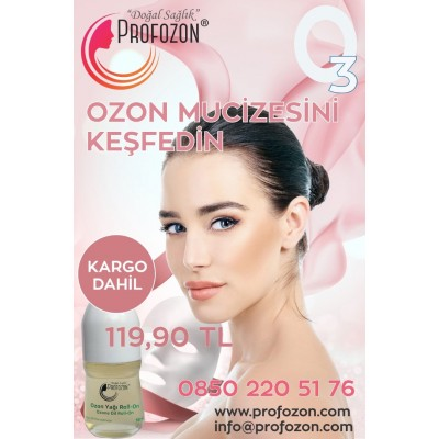 Ozon Yağı Kavanoz Roll On ve Serum